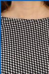 детской одежды, купить блузку белую с черным воротником